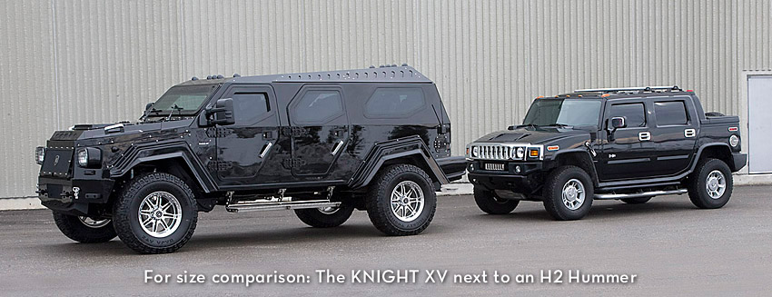 Armored Vehicles For Sale >> Conquest Vehicles | Knight XV